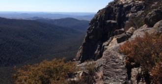 Take a hike  Booroomba Rocks