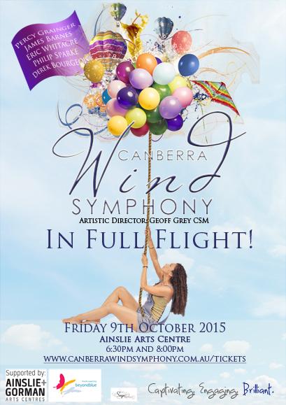 wind symphony in full flight