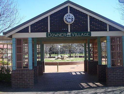 Downer_shops_village