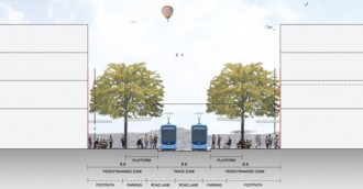 Light rail build to nab half a carpark