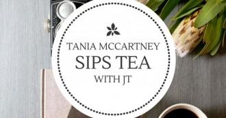 Tea with JT – Tania McCartney