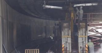 Tunnel collapse truck had no permit