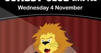 Comedy Club @ The Civic Pub 4 November
