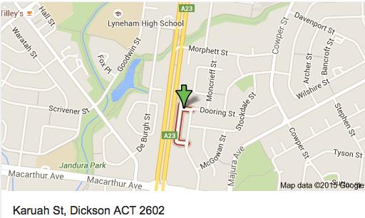 Karuah Street, Dickson