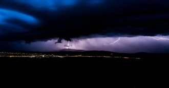 Storms light up the capital, rain to continue