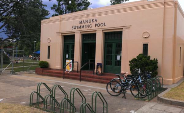 Manuka Pool entrance