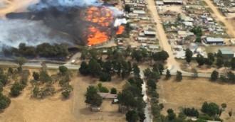 West Belconnen blaze extinguished after intensive weekend for firies