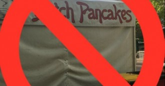 Calls for ban on Dutch pancakes  chips on sticks at Multicultural Festival