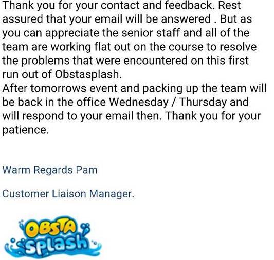 Response note