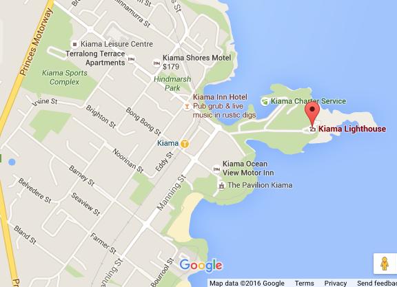 Kiama map