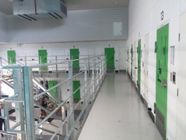 Prison wing at Alexander Maconochie Centre