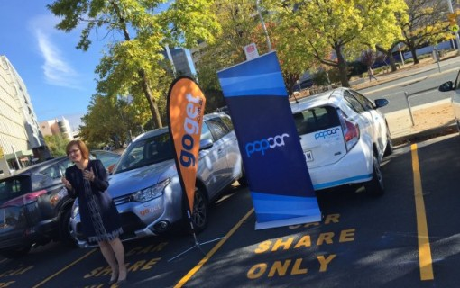 GoGet, Popcar car-sharing trial for ACT