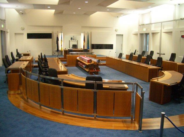 ACT Legislative Assembly chamber