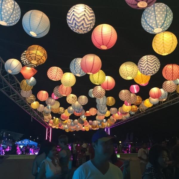 Night Noodle Market lanterns