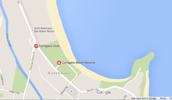 Corrigans Reserve, Batehaven