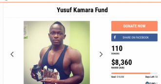 Fundraising for Canberra boy