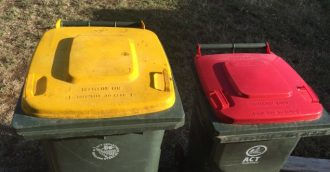 Industrial action affects rubbish collection today