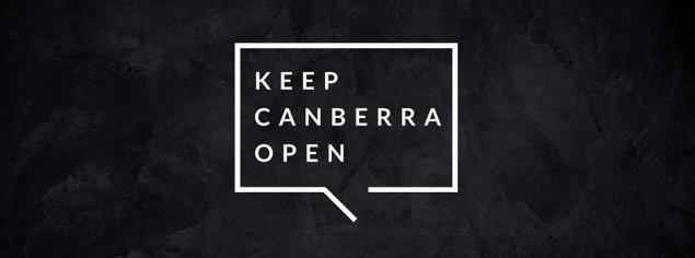 keep-canberra-open