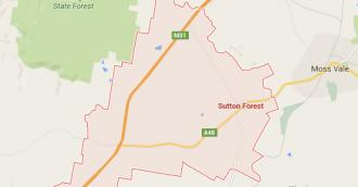 Man dies in Sutton Forest head-on ute crash