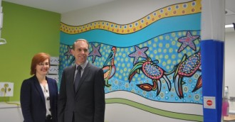 Dedicated paediatric areas open in ED at Canberra Hospital