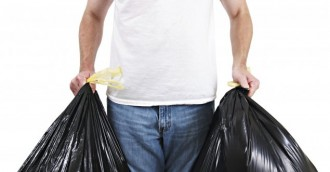 Bin collection delayed until weekend
