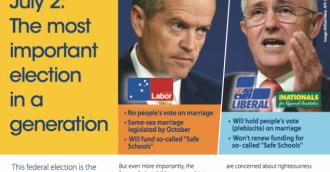 Greens snub Christian Lobby election forum