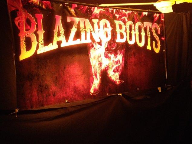 Blazing Boots
