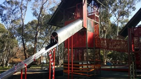 John Knight Park playground equipment