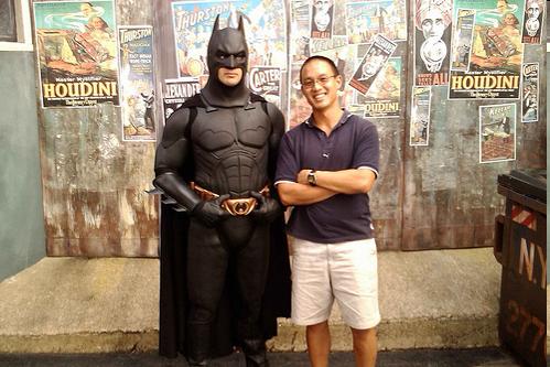 Kim and Batman