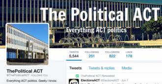 Fitzharris hires ex-Political ACT blogger