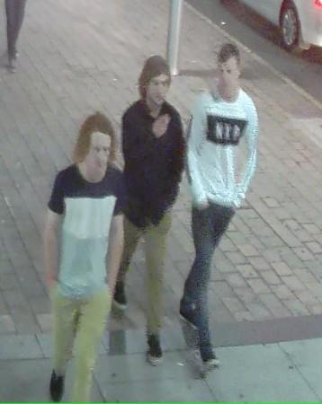 Three males CCTV [283300]