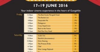 Movie marathon in Gungahlin