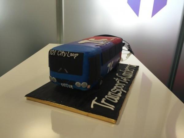 City Loop bus cake