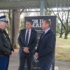 Detective Superintendent Rod Smith, Bryan Roach and Tim Overall.