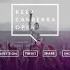 Keep Canberra Open