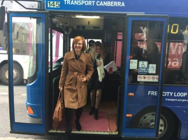 Transport Minister Meegan Fitzharris