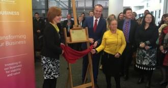 Burch lauded as CIT Tuggeranong opens