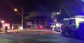 Fire engulfs Pialligo Estate smokehouse at Hume