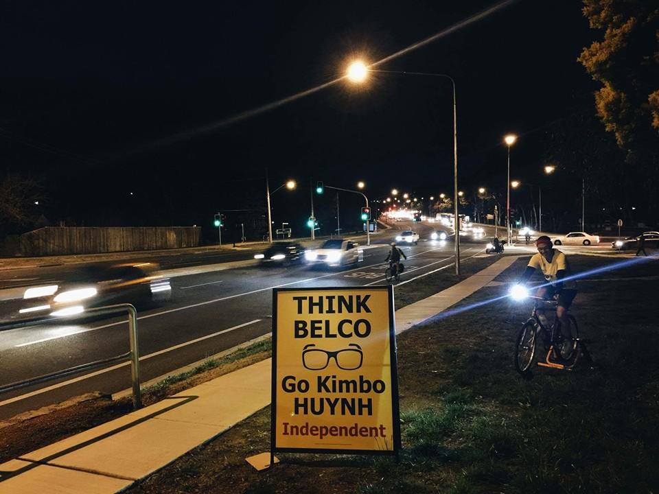 Kimbo shines a light on Barry Drive