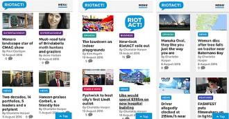 New look heralds big changes at RiotACT