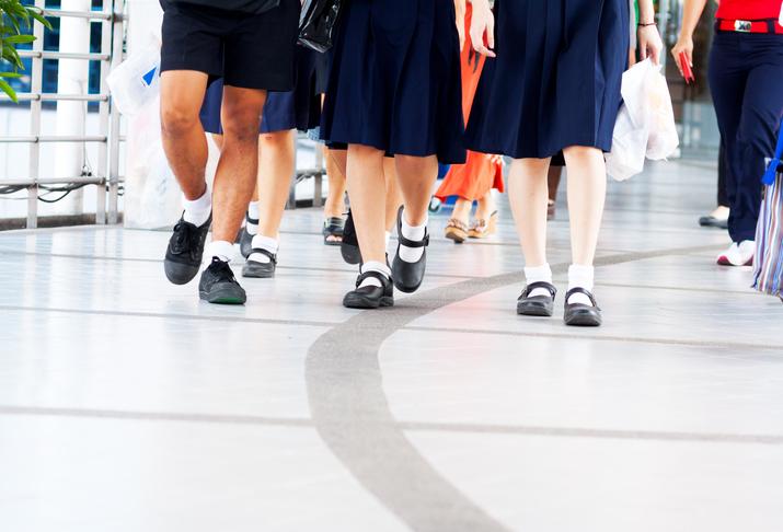 School students. Photo: iStock