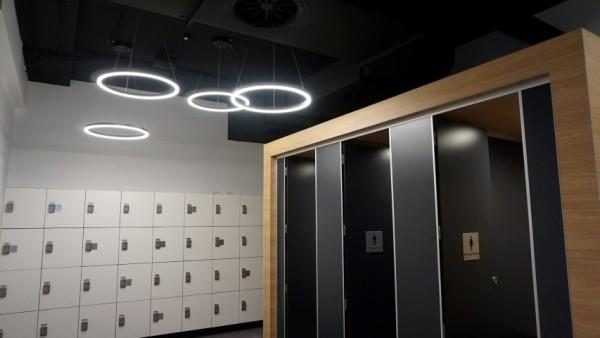 Psycle Life locker room