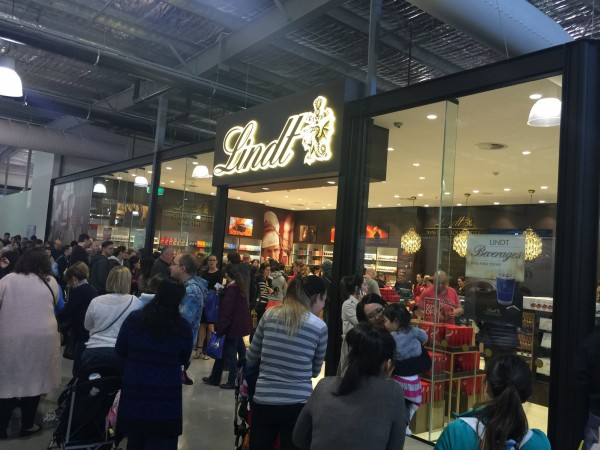 Lindt opening