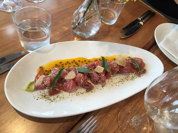 600 seared sesame yellow fin tuna IMG_3546