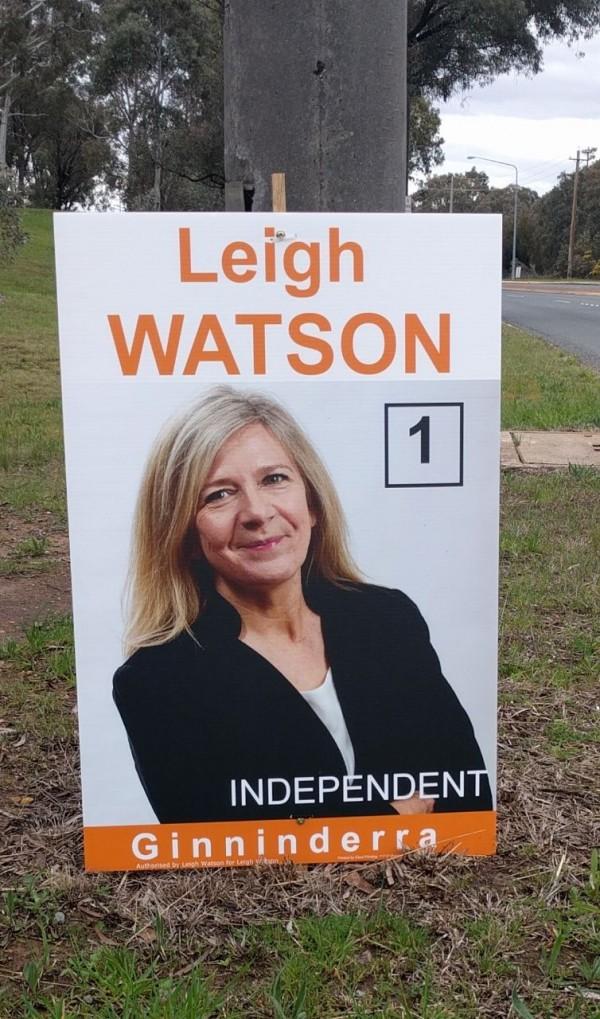 Leigh Watson sign