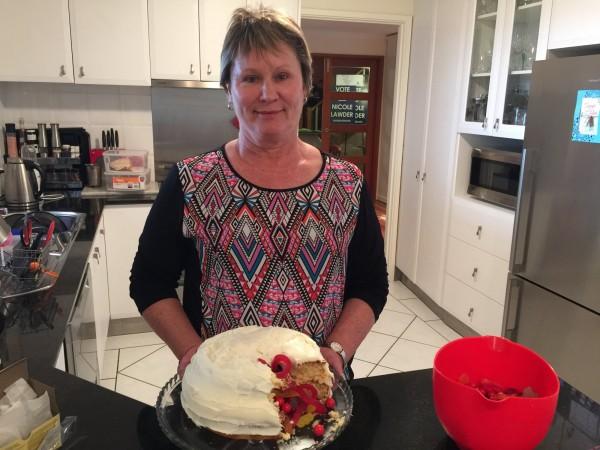 Nicole Lawder bake-off