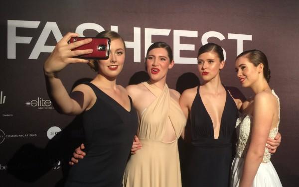 Model selfies