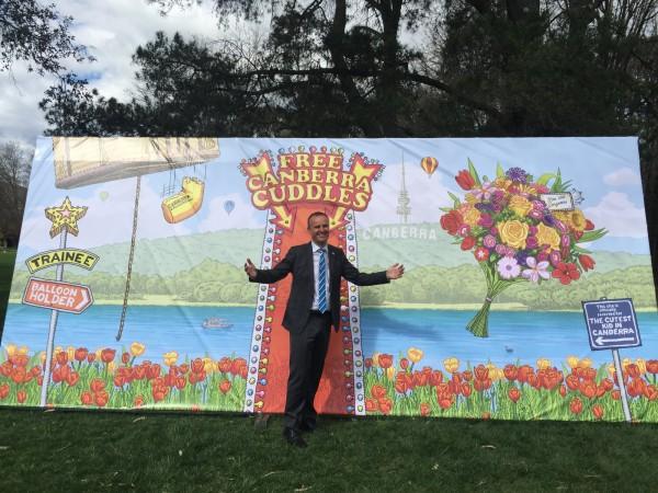 Free Canberra cuddles