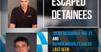 Two men escape from Canberra jail