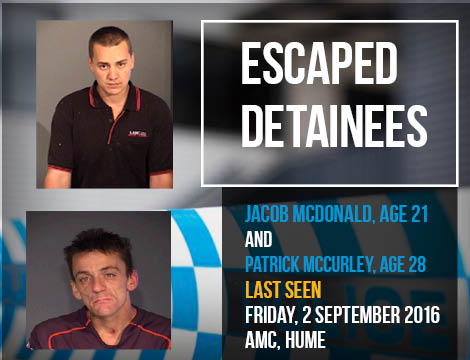 escaped detainees